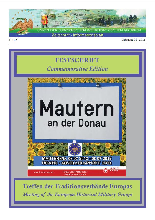 Journal 23 von 2012