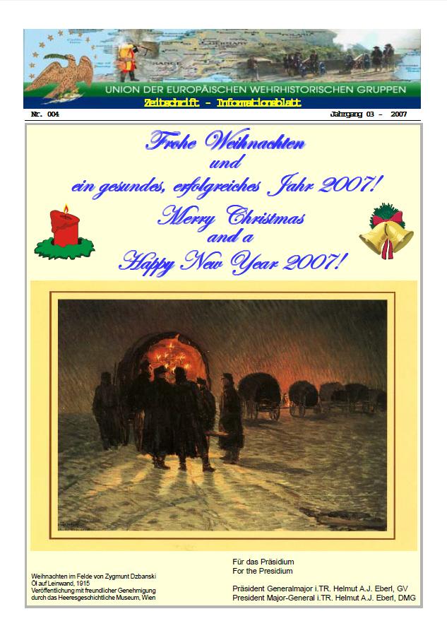 Titelseite Ausgabe Nr. 4