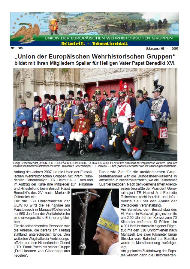 Titelseite Ausgabe 6