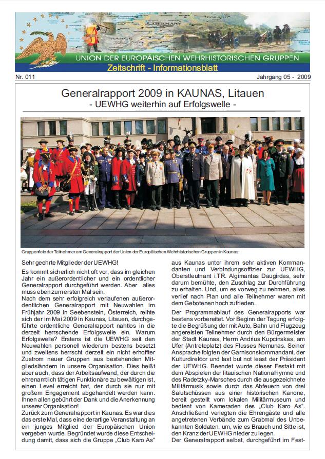 Titelseite Ausgabe Nr. 11
